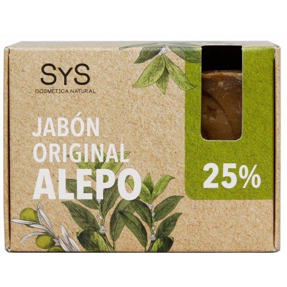Sabonete natural Alepo (azeite e óleo de bagas de loureiro)