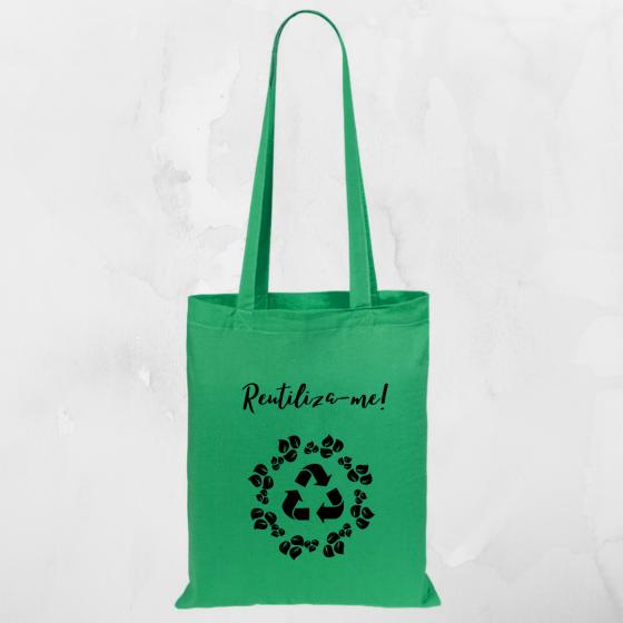 Sacos tema reciclagem
