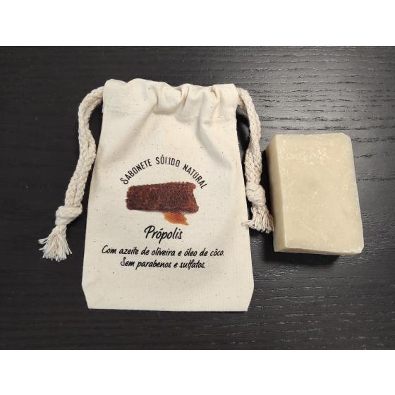 Sabonete natural Premium propólis
