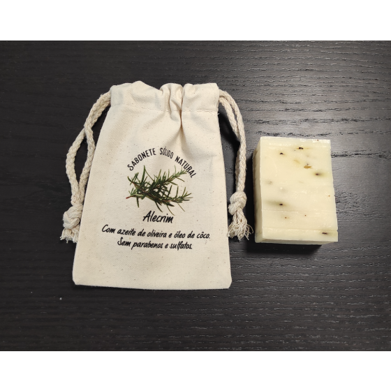 Sabonete natural alecrim