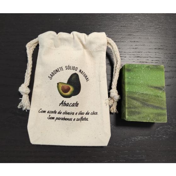 Sabonete natural abacate