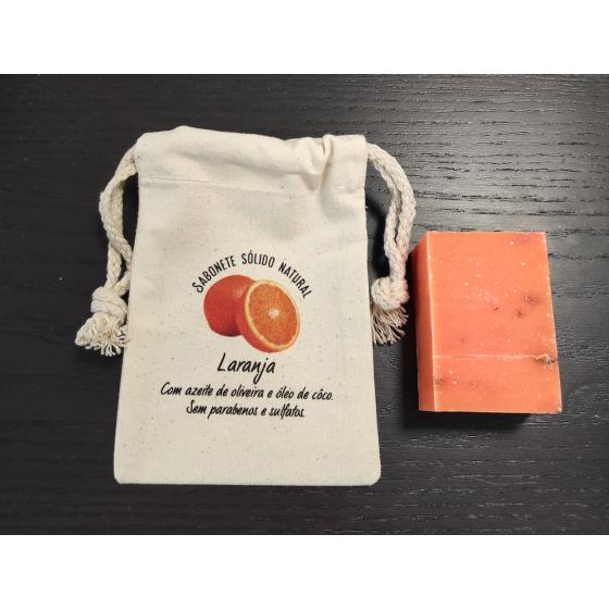Sabonete natural premium laranja