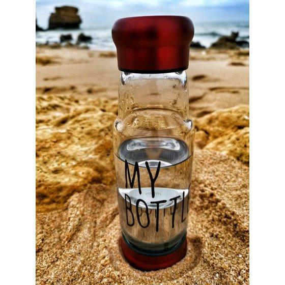 Garrafa de vidro My Bottle c/filtro 550ml