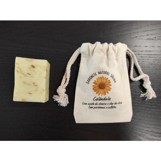 Sabonete natural calêndula