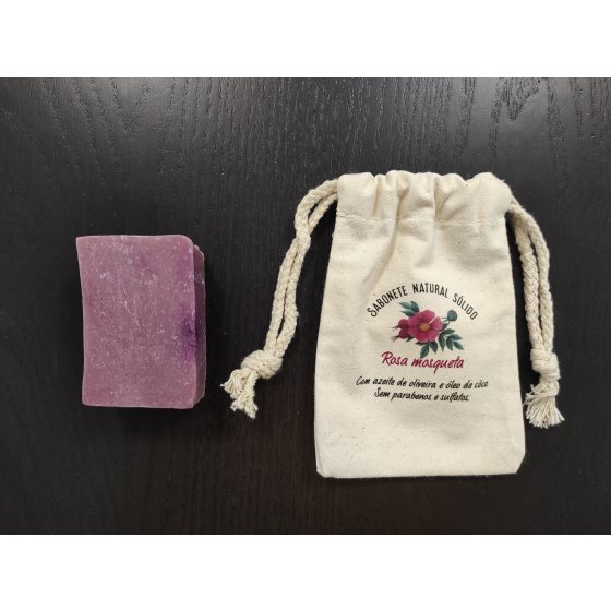 Sabonete natural rosa mosqueta