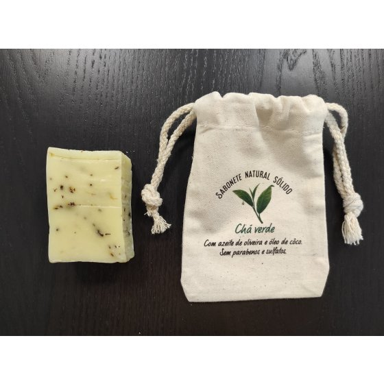 Sabonete natural chá verde