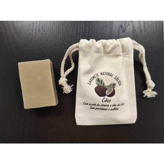 Sabonete natural côco