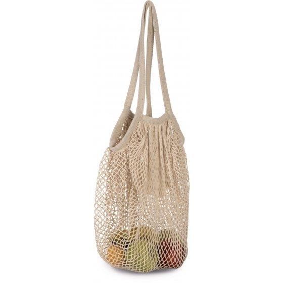 Saco de rede em algodão para compras